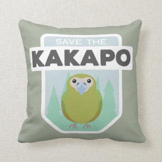 Ahorre la almohada de tiro del hogar del kakapo