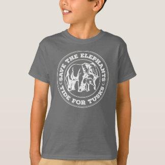 Ahorre la camisa de los niños de los elefantes
