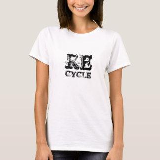 AHORRE la camiseta de la TIERRA reciclan la gema