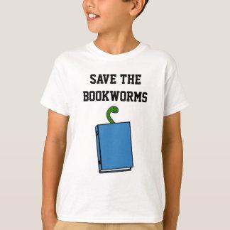 Ahorre la camiseta de los ratones de biblioteca