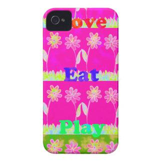 Ahorre la fecha comen amor y PLay.png iPhone 4 Cárcasa