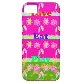Ahorre la fecha comen amor y PLay.png iPhone 5 Funda