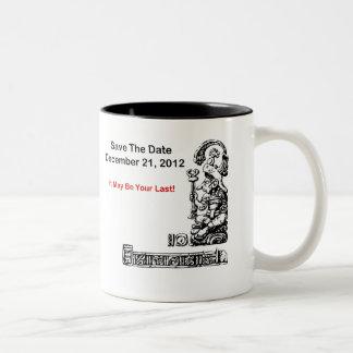 Ahorre la fecha, el 21 de diciembre de 2012 - la taza de dos tonos