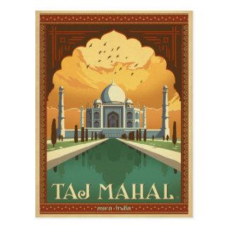 Ahorre la fecha el | el Taj Mahal, la India Postal