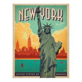 Ahorre la fecha el | NYC - señora Liberty 2 Postal