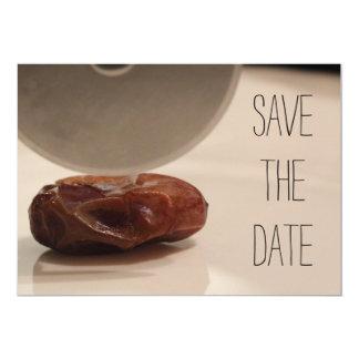 Ahorre la fecha invitación 12,7 x 17,8 cm