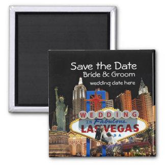 Ahorre la fecha Las Vegas que casa el imán