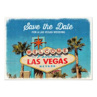 Ahorre la fecha para casarse fabuloso de Las Vegas Invitación 12,7 X 17,8 Cm