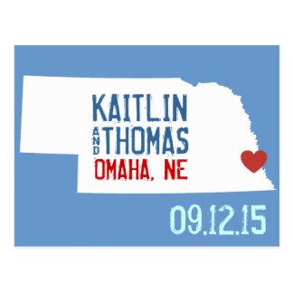 Ahorre la fecha - personalizable - Nebraska Postal