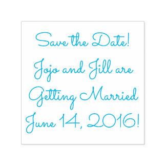 Ahorre la fecha su fecha conocida (del boda) sello automático