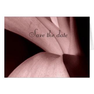 Ahorre la fecha tarjeta de felicitación