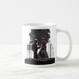 Ahorre la fecha taza