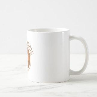 Ahorre la fecha taza básica blanca