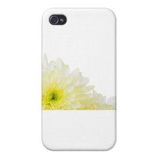 Ahorre la flor del amarillo de la fecha iPhone 4 funda