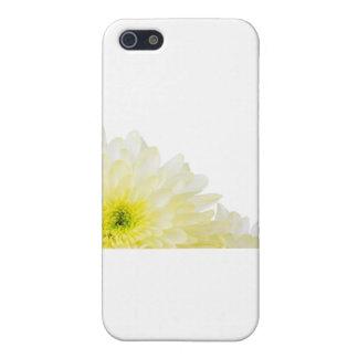 Ahorre la flor del amarillo de la fecha iPhone 5 carcasas