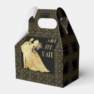 Ahorre la hoja de oro de la fecha y la caja negra