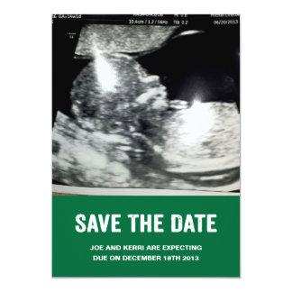 Ahorre la invitación del embarazo de la fecha