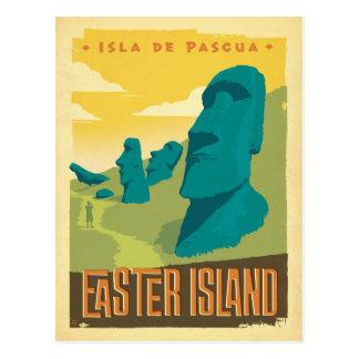 Ahorre la isla de la fecha el | pascua, Chile Postal