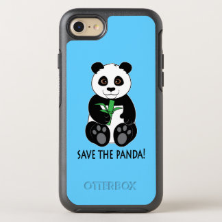 ¡Ahorre la panda! Funda OtterBox Symmetry Para iPhone 8/7
