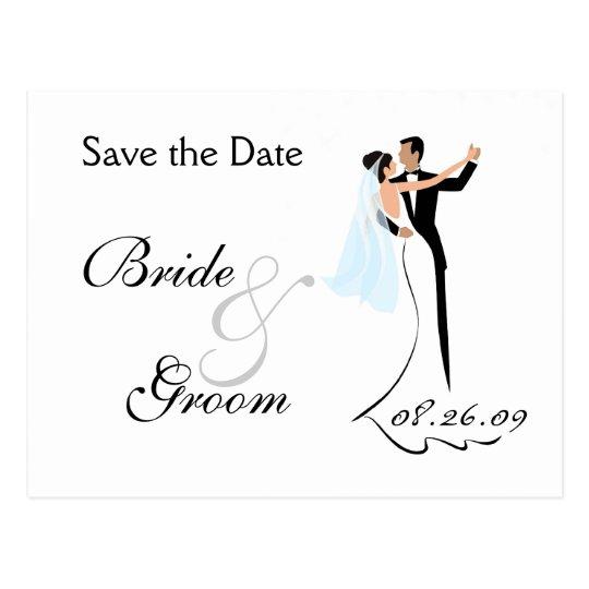Ahorre la postal de la invitación del boda de la