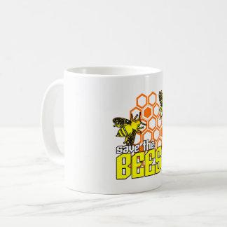 Ahorre la taza de las abejas