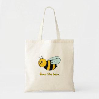 'Ahorre las abejas Bolso De Tela