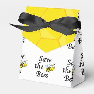 Ahorre las abejas caja para regalos
