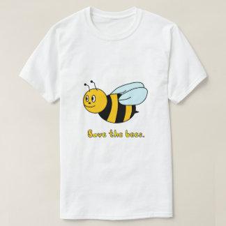 """""""Ahorre las abejas"""" (los hombres/unisex) Camiseta"""