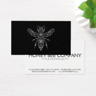 ahorre las abejas tarjeta de negocios