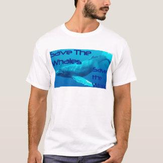Ahorre las ballenas, ahorre la camiseta del mundo