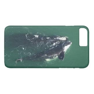 Ahorre las ballenas derechas de Atlántico Norte Funda iPhone 7 Plus