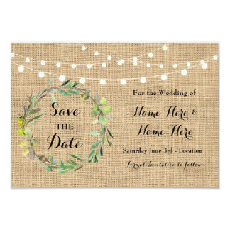 Ahorre las tarjetas florales del banquete de boda