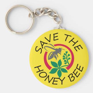 """Ahorre llavero de la abeja de la miel"""