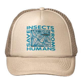 Ahorre los insectos gorras de camionero