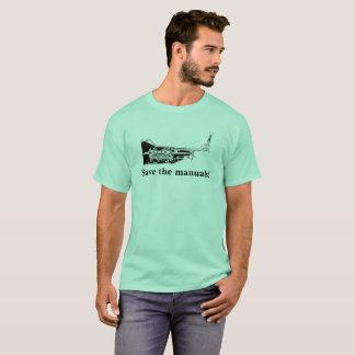 ¡Ahorre los manuales! Camiseta