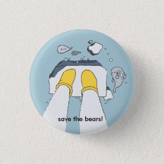 """""""Ahorre los osos!"""" botón"""