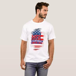 Ahorre nuestra atención sanitaria camiseta