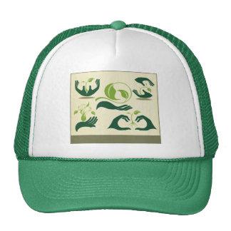 Ahorre nuestros símbolos de la tierra, eco gorra