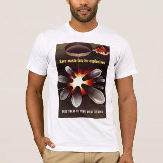 Ahorre para los explosivos camiseta
