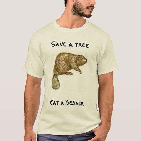Ahorre un árbol camiseta
