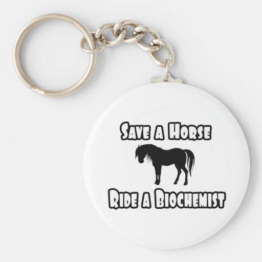 Ahorre un caballo, monte a un bioquímico llavero