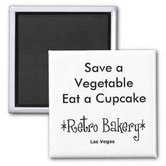 Ahorre una verdura comen un imán de la magdalena
