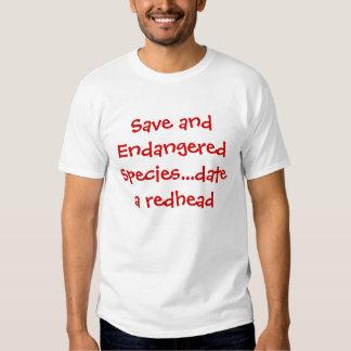 Ahorre y fecha en peligro de la especie… un camisas