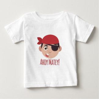 Ahoy afable camiseta de bebé