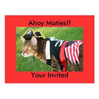 ¡Ahoy Maties!! , Su invitado Postal