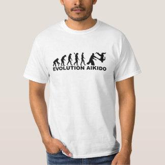 Aikido de la evolución camiseta