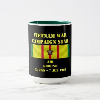Aire/campaña de tierra tazas de café