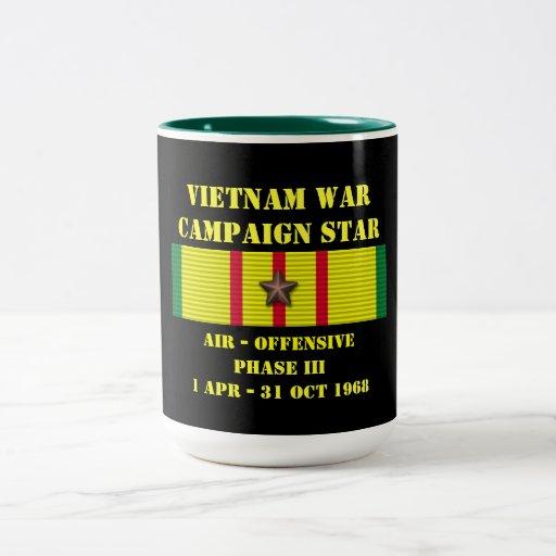 Aire - campaña ofensiva de la fase III Taza De Café