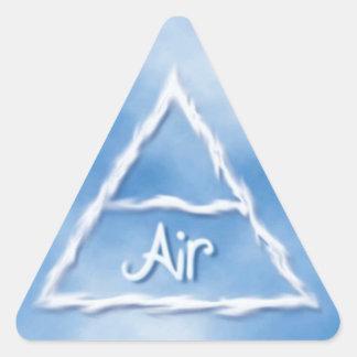 Aire Pegatina Triangular
