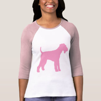 Airedale Terrier (rosa) Camiseta